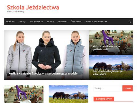 Szkolajezdziectwa.pl - Blog