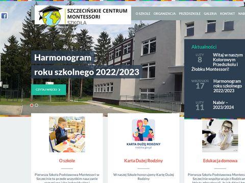 Montessori - Szkoła Podstawowa w Szczecinie
