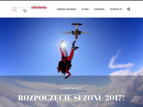 Szkolenia spadochronowe AFF - szkoleniaaff.pl