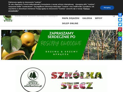 Szkółka roślin Stecz - Szkółka drzew krzewów owocowych i ozdobnych