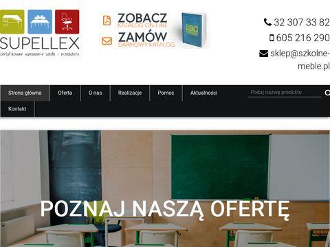 Meble szkolne i przedszkolne - Firma Supellex