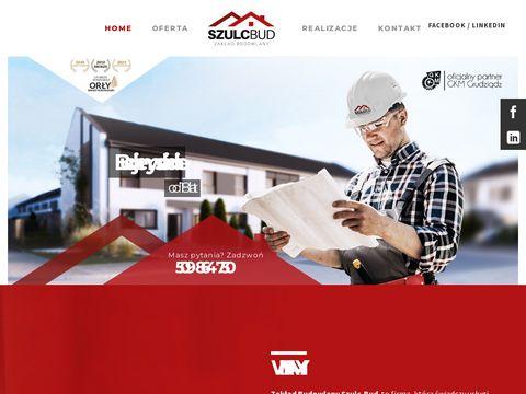 Firma Budowlana Szulc-Bud Toruń - osuszanie budynków, iniekcja