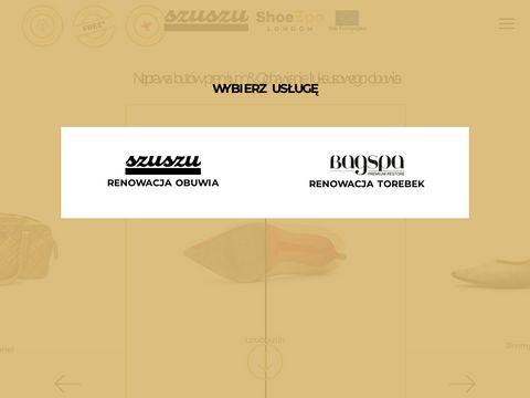 Szuszu - naprawa torebek i renowacja but贸w