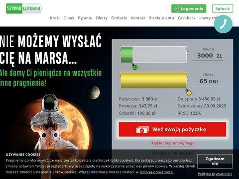 Https://szybkagotowka.pl