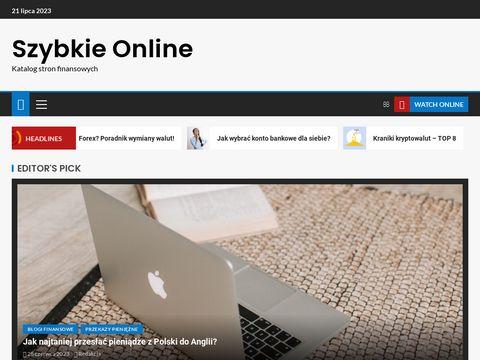 Szybkieonline.pl - szybki kredyt got贸wkowy online