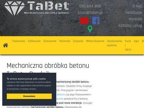 Www.tabet.pl Frezowanie posadzek