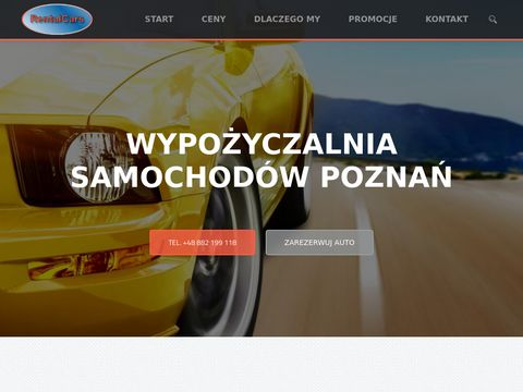 Wypo偶yczalnia samochod贸w Pozna艅, Rent a Car