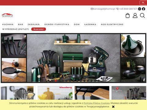 TanieAGD.pl - garnki sztućce patelnie akcesoria kuchenne czajniki