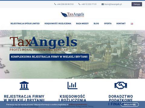 TaxAngels - Firma w Anglii Zak艂adanie i Rejestracja Sp贸艂ki w UK