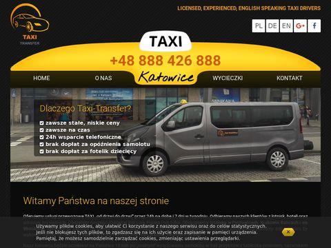 Transfer taxi lotnisko Katowice
