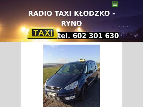 TAXIRYNOKLODZKO taksi k艂odzko