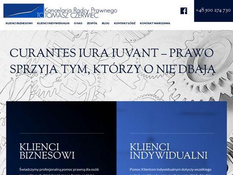 Tczerwiec.pl - prawnik �ódź.