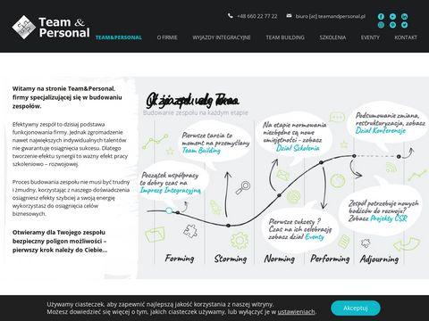 Team Personal - Budowanie zespo艂u, wyjazdy integracyjne, eventy,