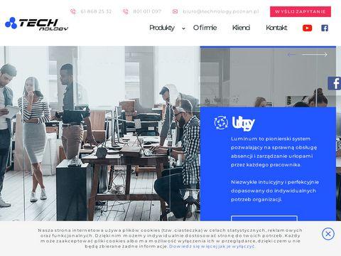 Technology.poznan.pl - elektroniczny system urlopowy