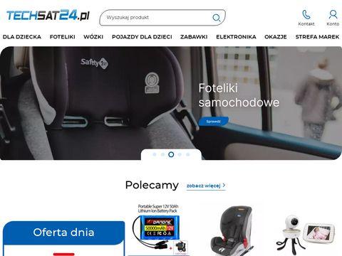Techsat24.pl - internetowy sklep komputerowy