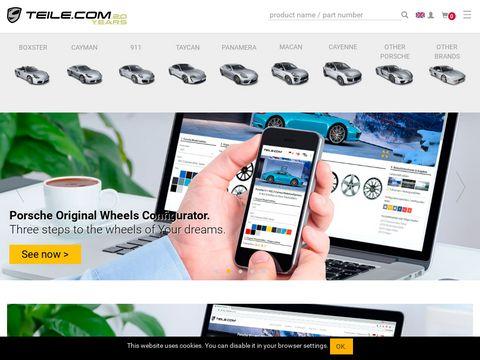 TEILE.COM - Originale Porsche Zubeh枚r & Ersatzteile