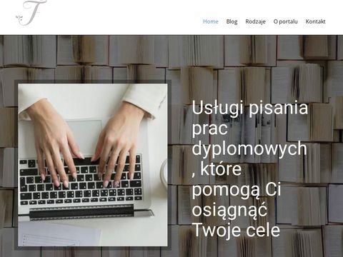 Tekstagregator.pl 鈥� Pomagamy przy pisaniu prac