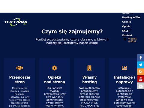 Telefirma.pl - usługi internetowe (zdalnie, cała Polska)