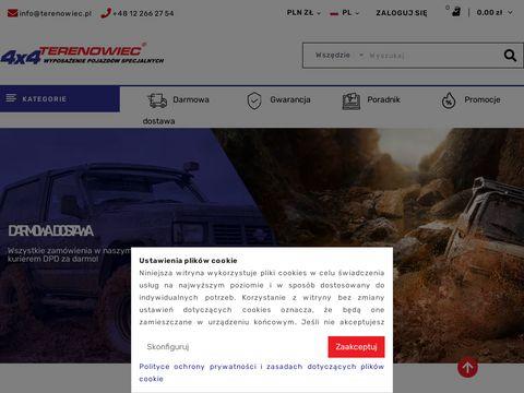 Poszerzenia nadkoli - Terenowiec.pl
