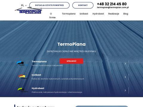 Izolacje termiczne - termopian.com.pl