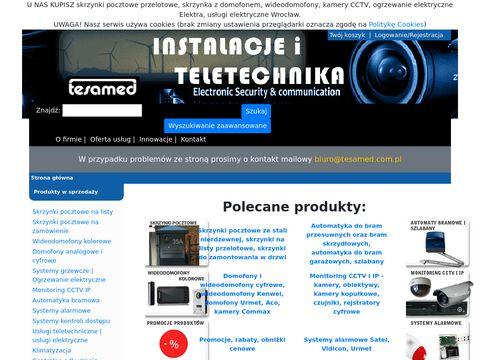 Tesamed to usługi teletechnicze