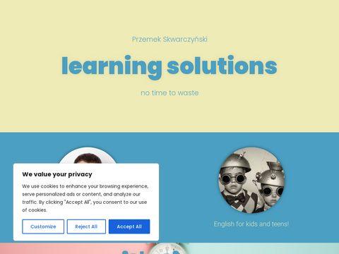 Thetime.pl - indywidualne lekcje j臋zyka angielskiego online przez Skype