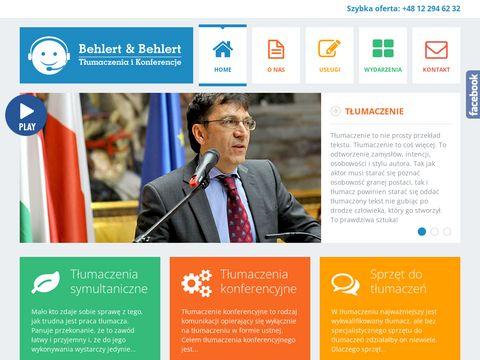 Tłumaczenia symultaniczne tlumaczenia-konferencje.pl