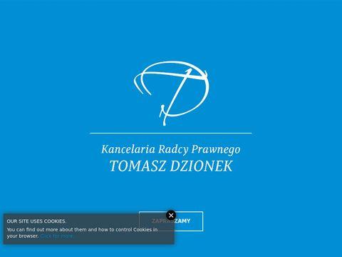Kancelaria Radcy Prawnego - Tomasz Dzionek