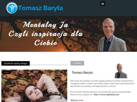 Szkolenia motywacyjne i rozwoju osobistego poleca Tomasz Bary艂a.