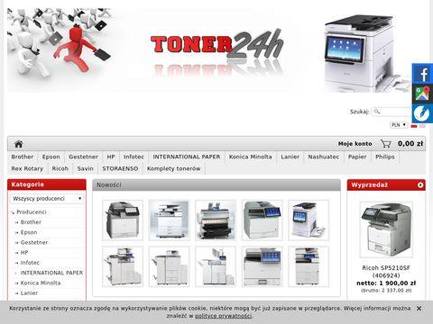 Toner24h.pl papier zabezpieczonyw