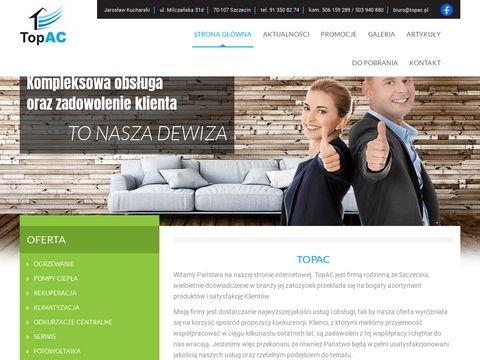 TopAC pompa ciepła powietrzna Szczecin