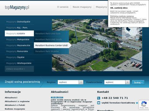Magazyny na miarÄ™ na stronie topmagazyny.pl