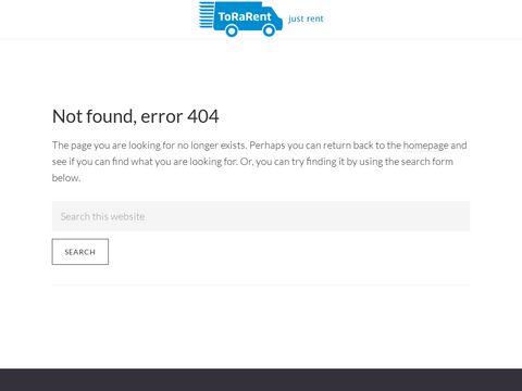 Wypo偶yczalnia Samochod贸w Dostawczych ToraRent