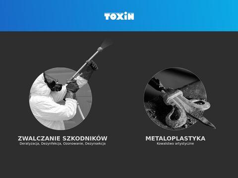 Www.toxin.com.pl zwalczanie szkodników