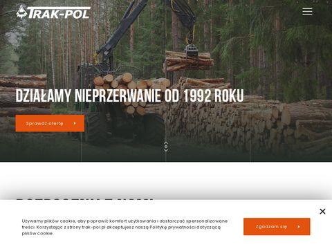 Producent wi臋藕b, boazerii, Ma艂opolska - tartak TRAK-POL