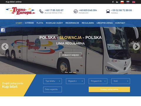 Przewozy autokarowe Polska W艂ochy