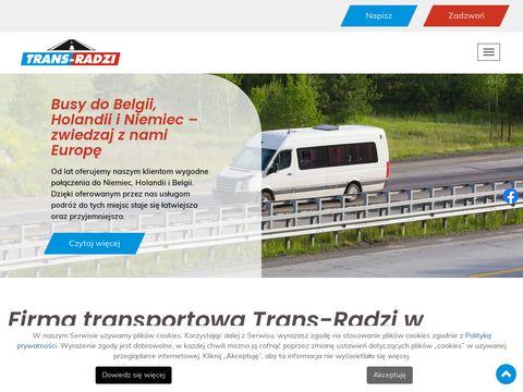 Przewozy osób z Holandii do Polski | bus z Olsztyna i Ostródy: Trans-Radzi