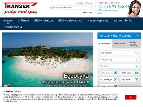 Biuro Podróży Wrocław - Transer.pl