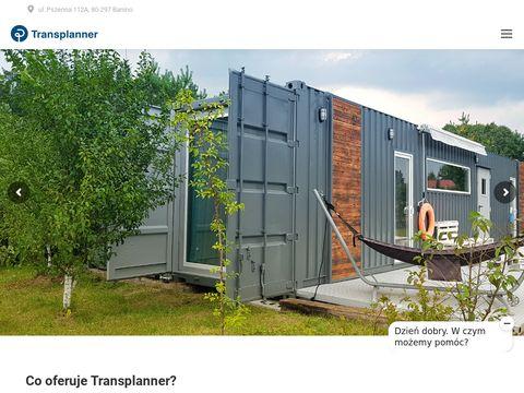 Transplanner kontenery magazynowe używane nowe