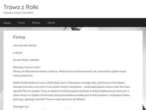 Trawawrolkach.pl - Trawa w rolce
