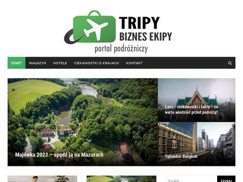 TripyBiznesEkipy - ciekawe miejsca na wakacj