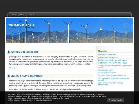 TRUST odzie偶 ochronna Aleksandr贸w Kujawski
