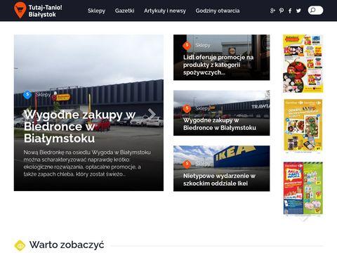 Promocje, wyprzedaże Tutaj-tanio.pl