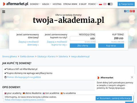Twoja-akademia.pl koncentracja Tychy