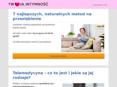 Intymny blog dla kobiet