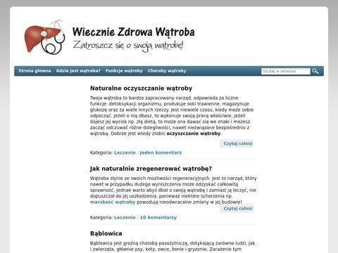 Choroby wÄ…troby - TwojaWatroba.pl