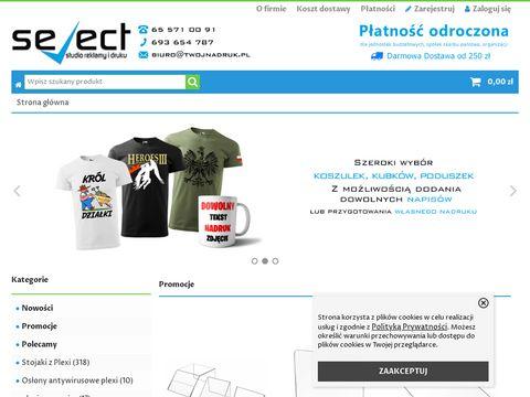 Tablica z nr domu - twojnadruk.pl