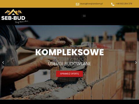 Firma budowlana i us艂ugi og贸lnobudowlane SEB BUD