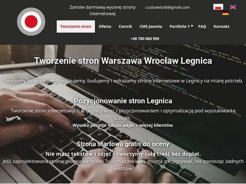 Tworzenie stron www Wrocław, grafik komputerowy