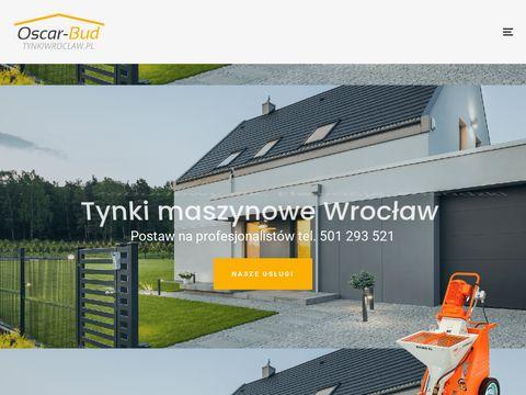 Tynki Wrocław - wykonawca tynków maszynowych dolny śląsk